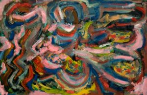 Landscape 1984 Oil on Board 61 x 91.5 cm
