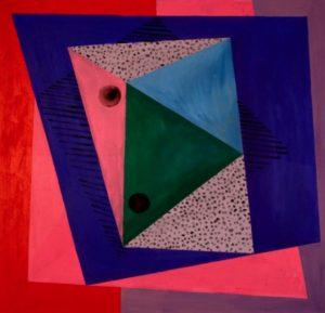 Rhapsody 1999 Acrylic on Canvas 174 x 174 cm