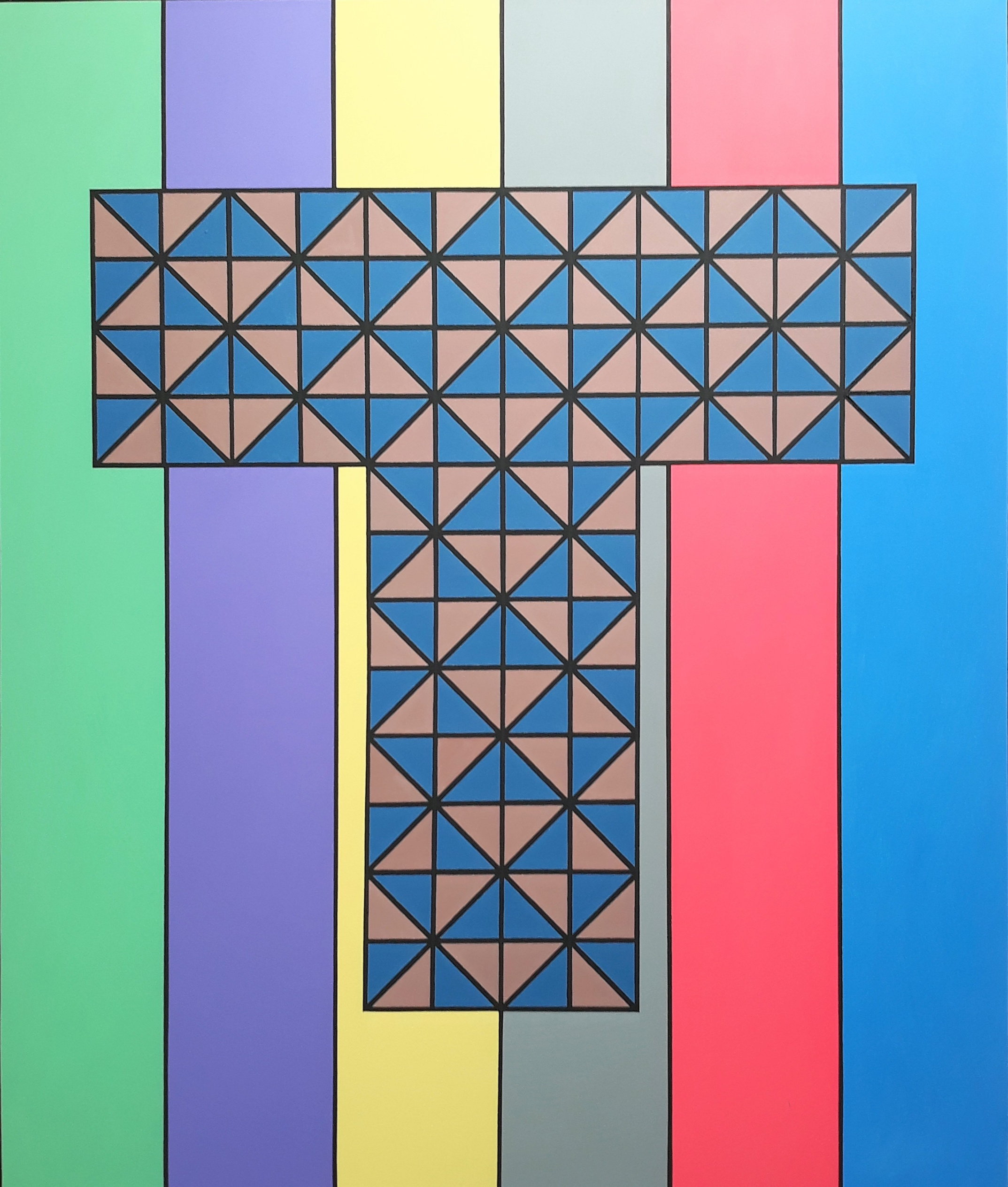Argonaut 2019 Acrylic on Canvas 220 x 186 cm