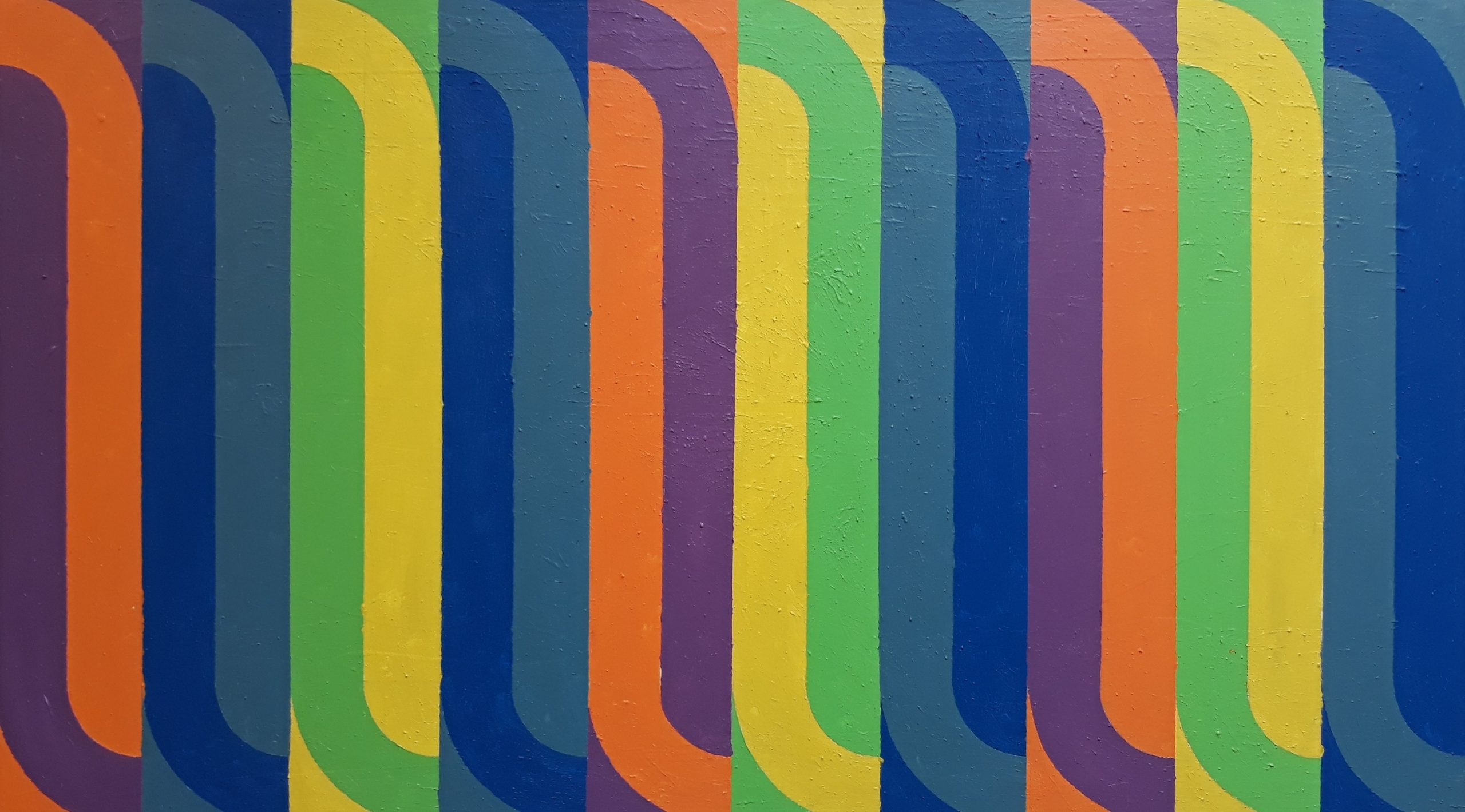 Radillon 2019 Acrylic on Canvas 86 x 153 cm